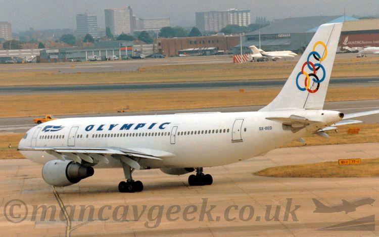 SX-BED, Airbus A300B4, Olympic  - mancavgeek | ello