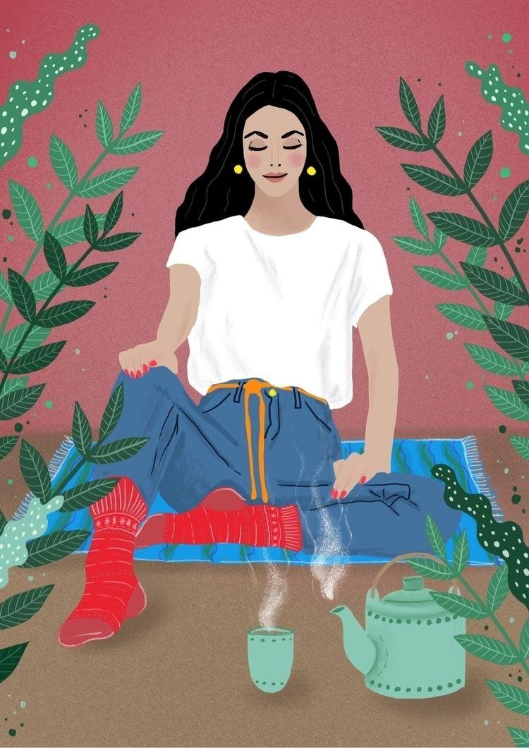 art, artist, illustration, illustrator - carinalindmeier | ello