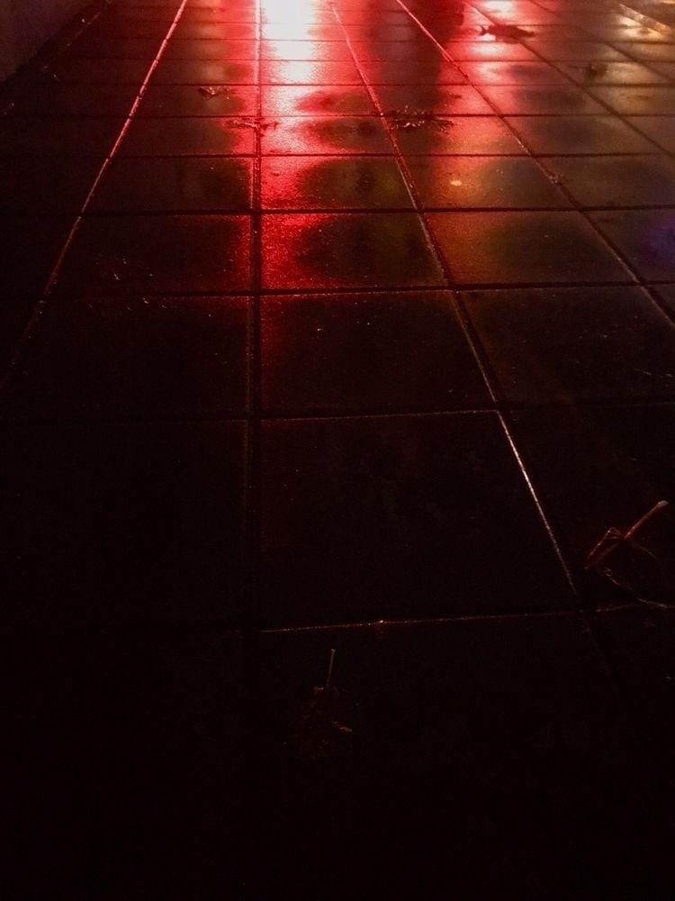 neon, rainy, path - hsiaokai | ello