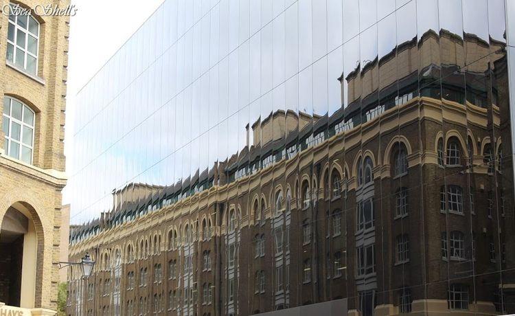 Relfections London - streetphotography - irseashell   ello