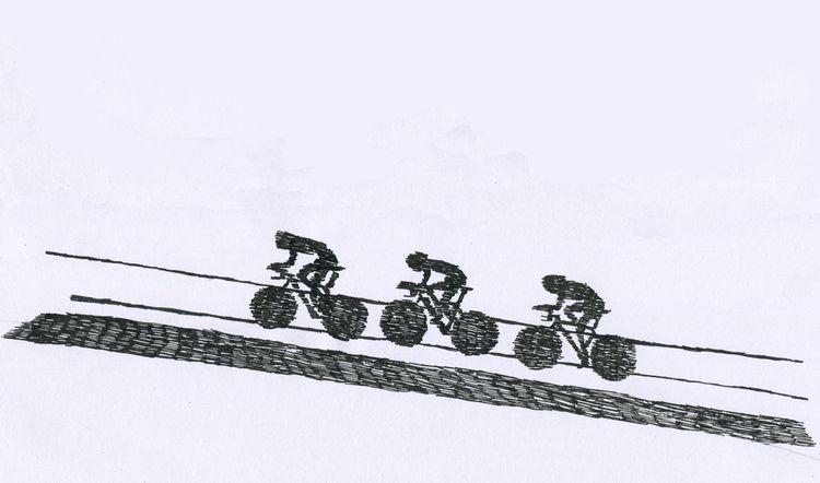 Sketchbook - illustration, cycling - sophieillustration   ello