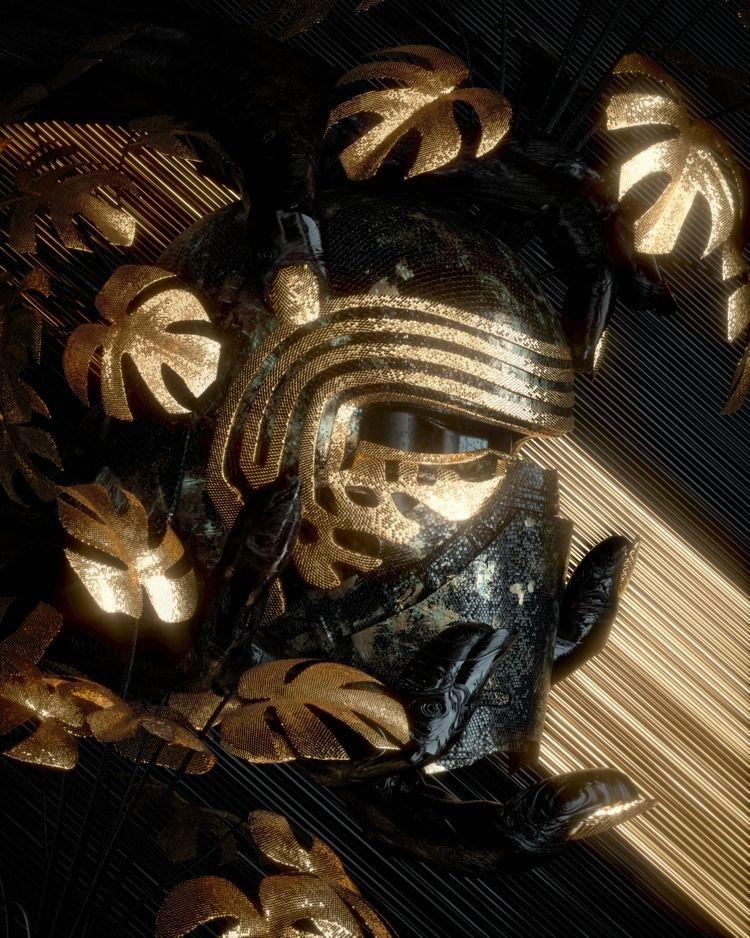 Treasury - texture, cyberpunk, neon - skeeva | ello