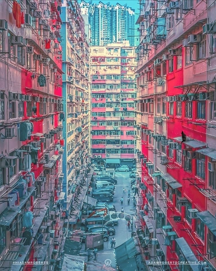 Hong Kong Illustrative Photogra - adamroberts | ello