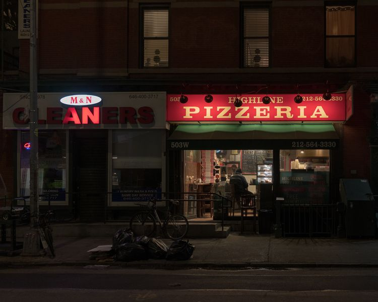 PIZZERIA. NYC - photography, photooftheday - alon | ello