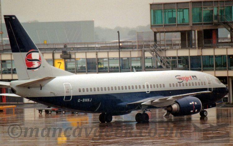 Boeing 737-3Q8, Air Foyle - Sun - mancavgeek | ello