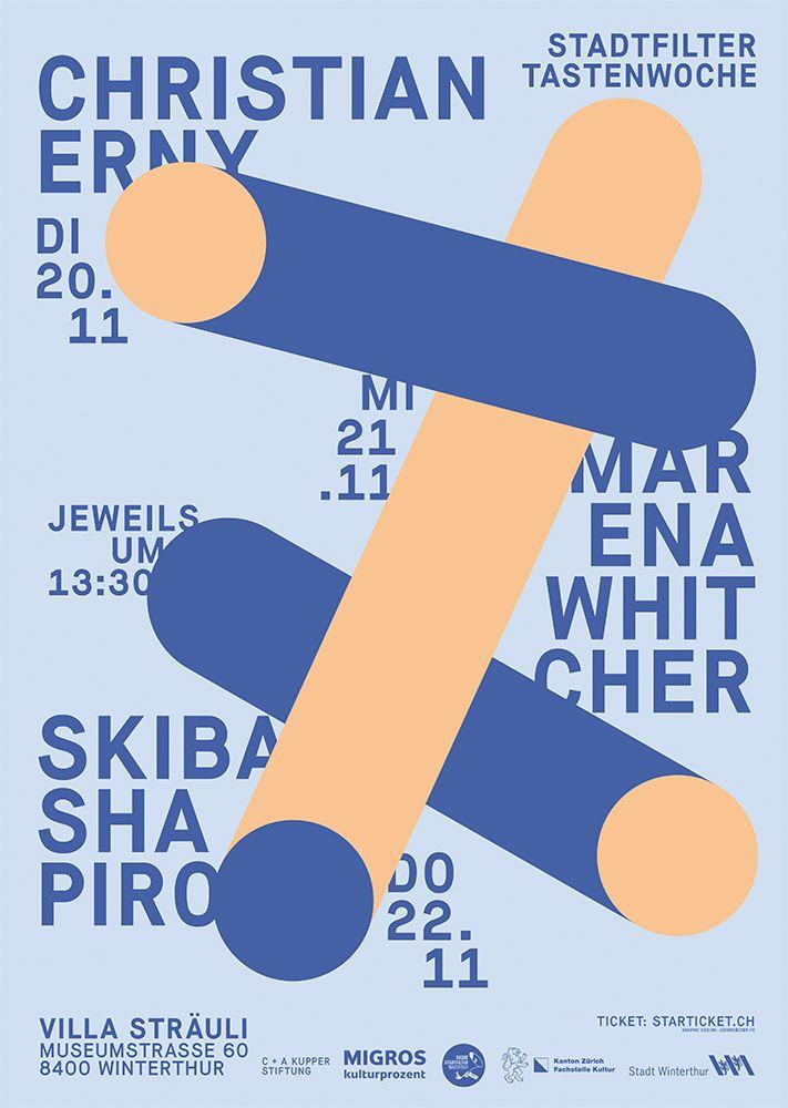 Poster Stadtfilter Tastenwoche  - jeromebizien | ello