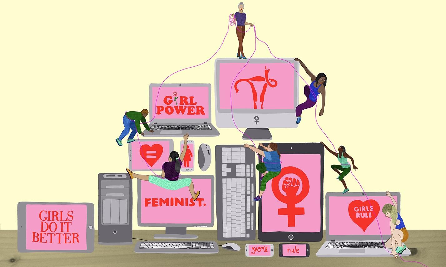 Modern feminist technology spre - ellis__d | ello