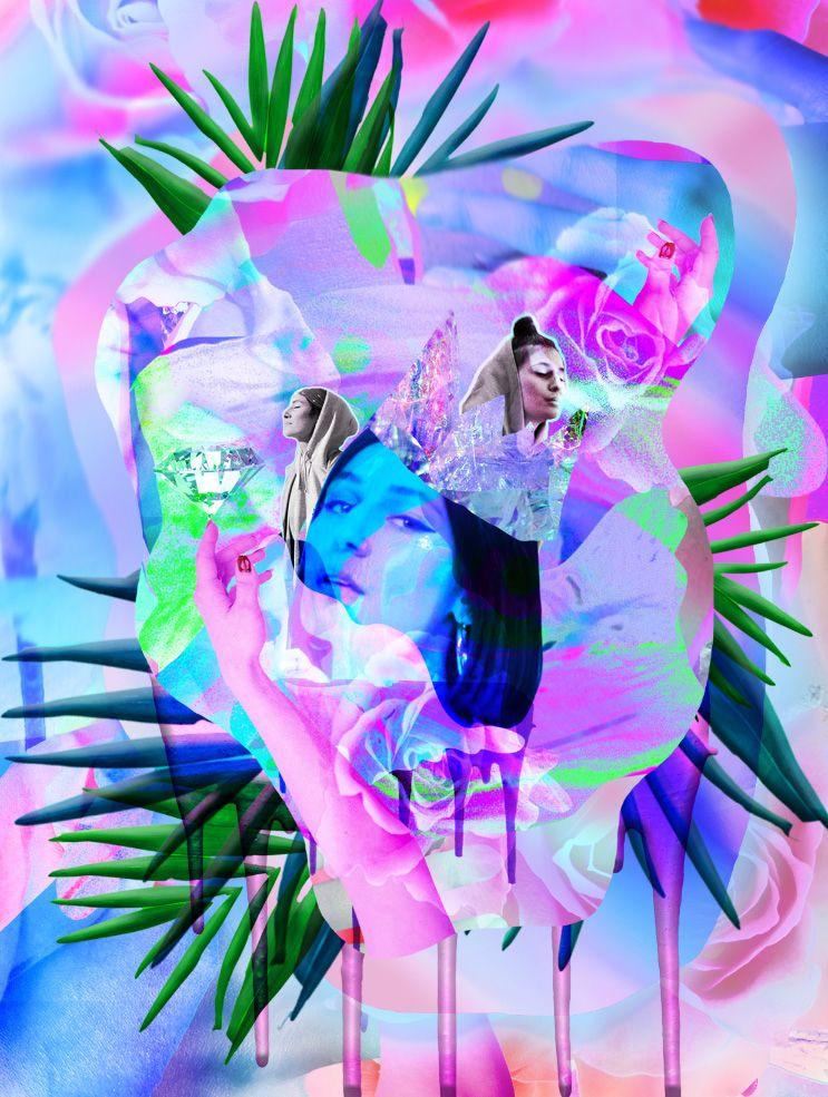 digitalcollage, collage, mixedmedia - jasminpelz | ello