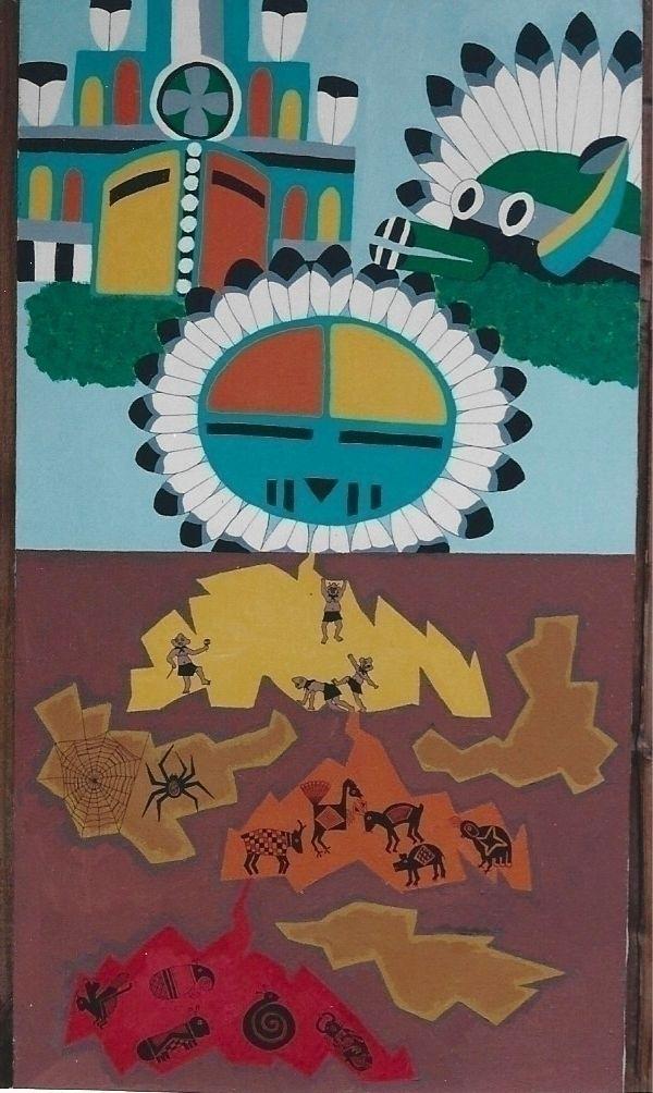 Western Pueblo Creation Story,  - ccruzme   ello