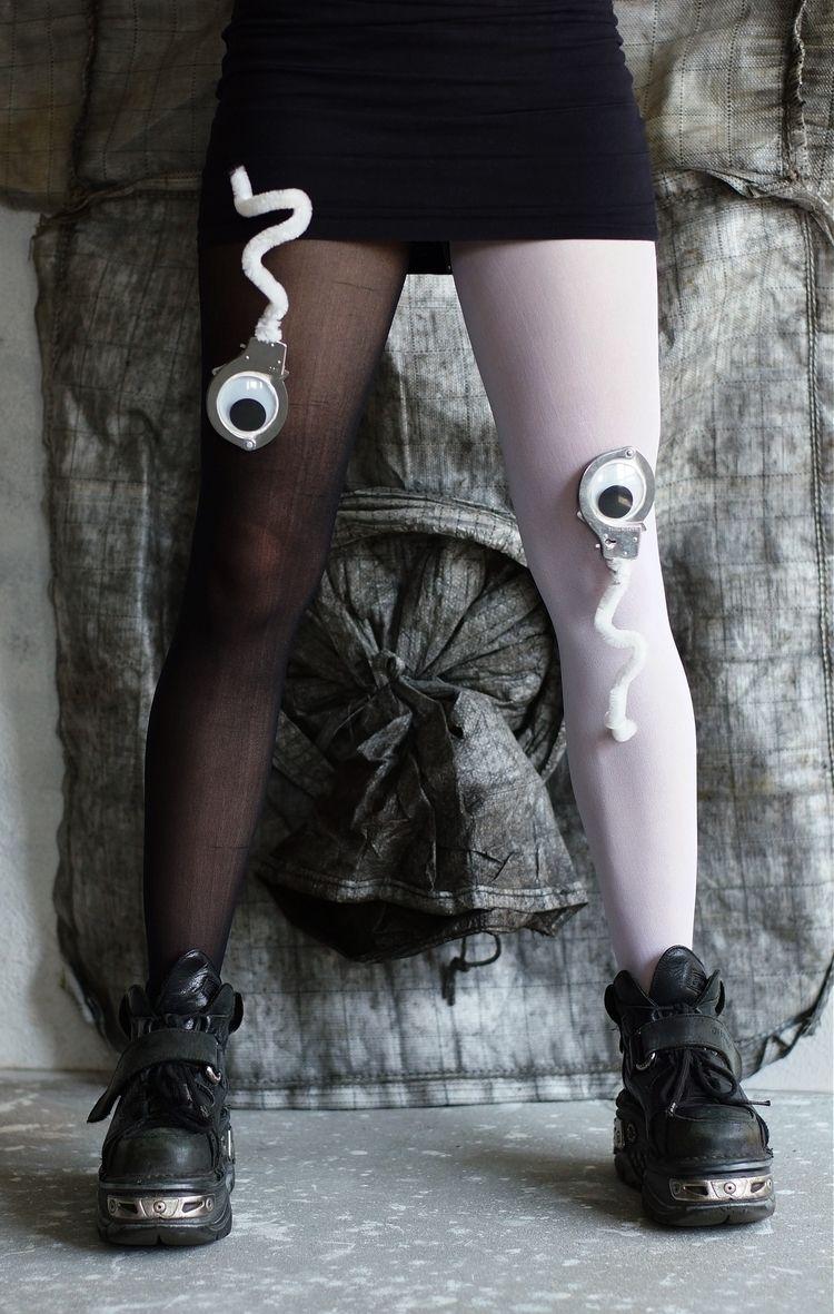 Global gulag black white legs g - frango_artist | ello