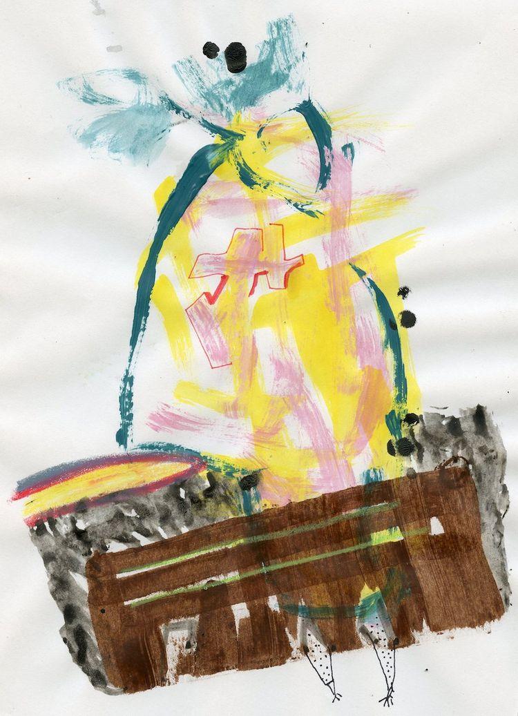 mixed media paper - drawing - homare | ello