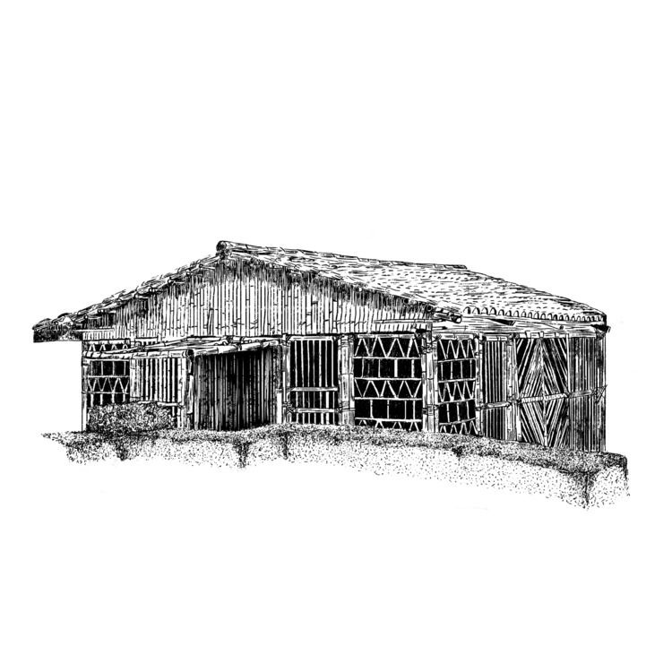 OutDoors Bar/Cabin Illustration - rodzarain | ello