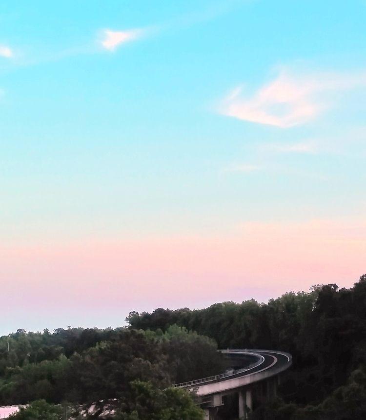 Sky Tracks Trees - train, tracks - ranjiroo | ello
