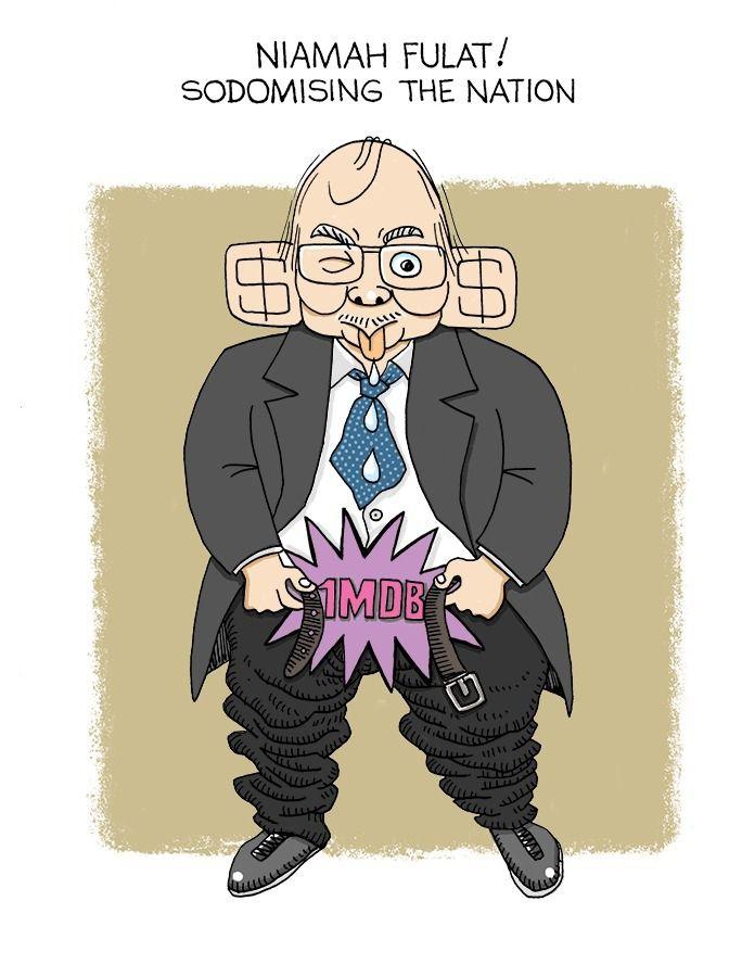 Sodomising Nation - art, cartoon - paulchoo | ello