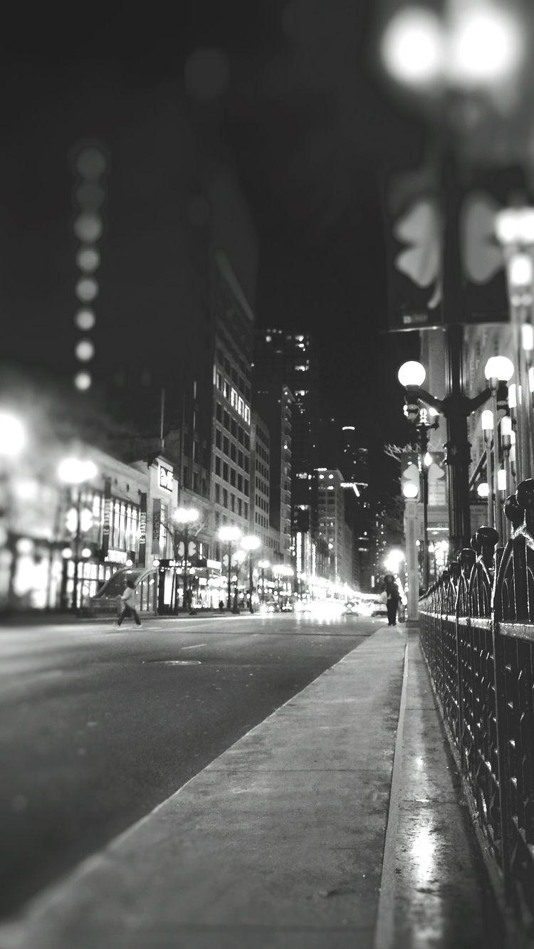 Night Chicago - blackandwhitephotography - ranjiroo | ello
