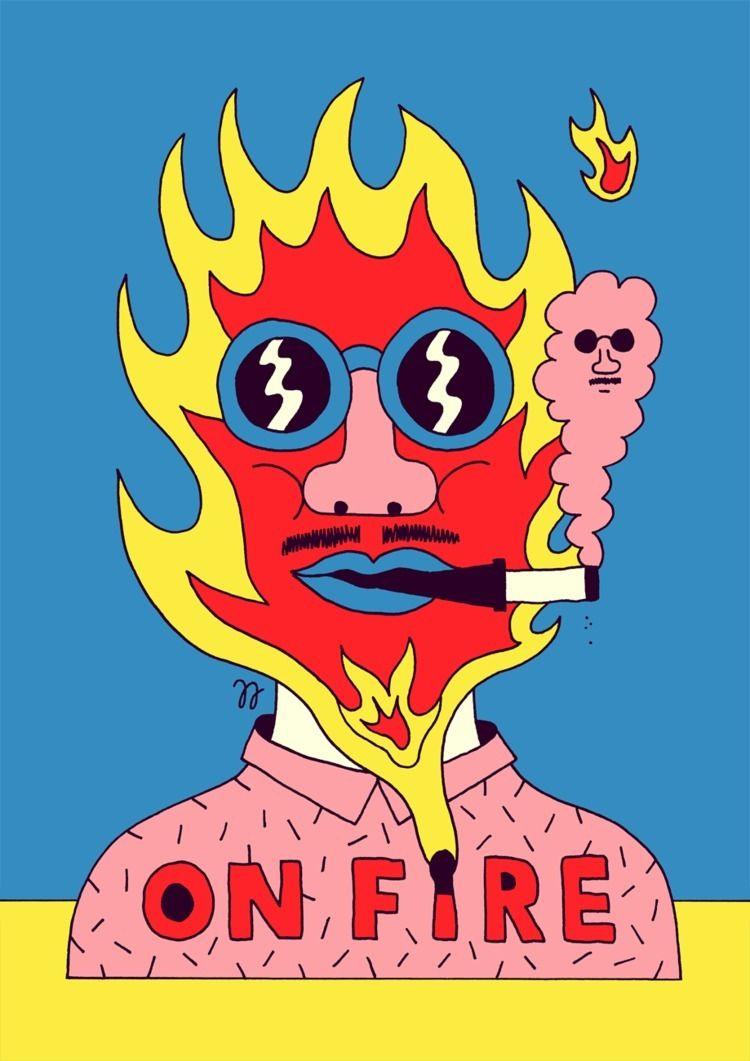 FIRE! prints season 3 Room Fift - jangojim   ello