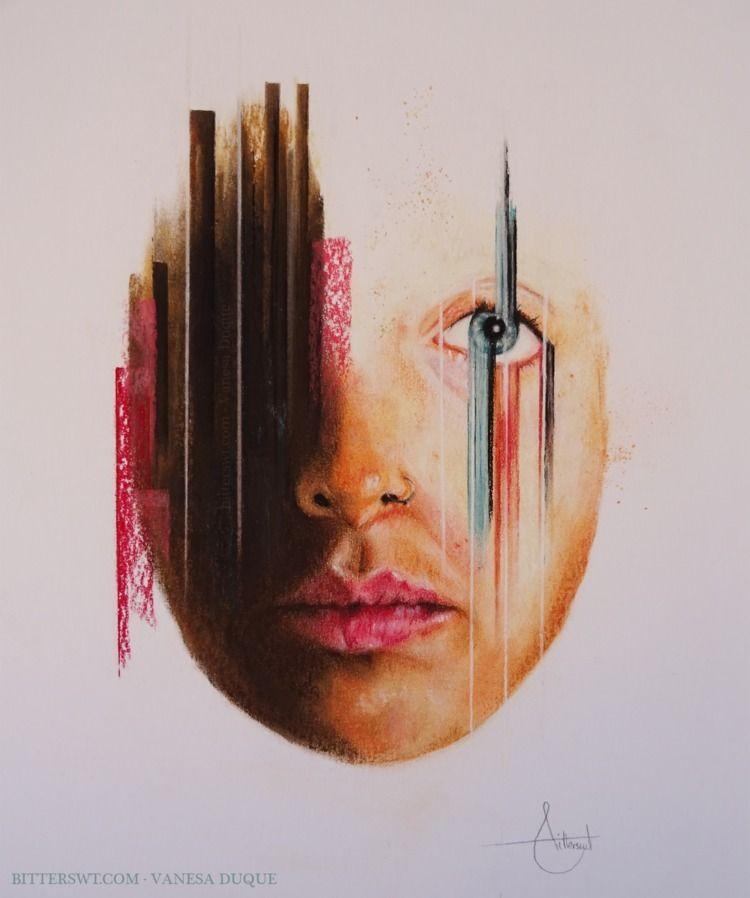 «Migraines», Pastel painting. r - bitterswt | ello