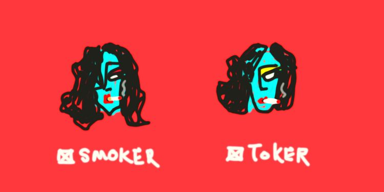 Smoker / Toker - art, illustration - jkalamarz | ello