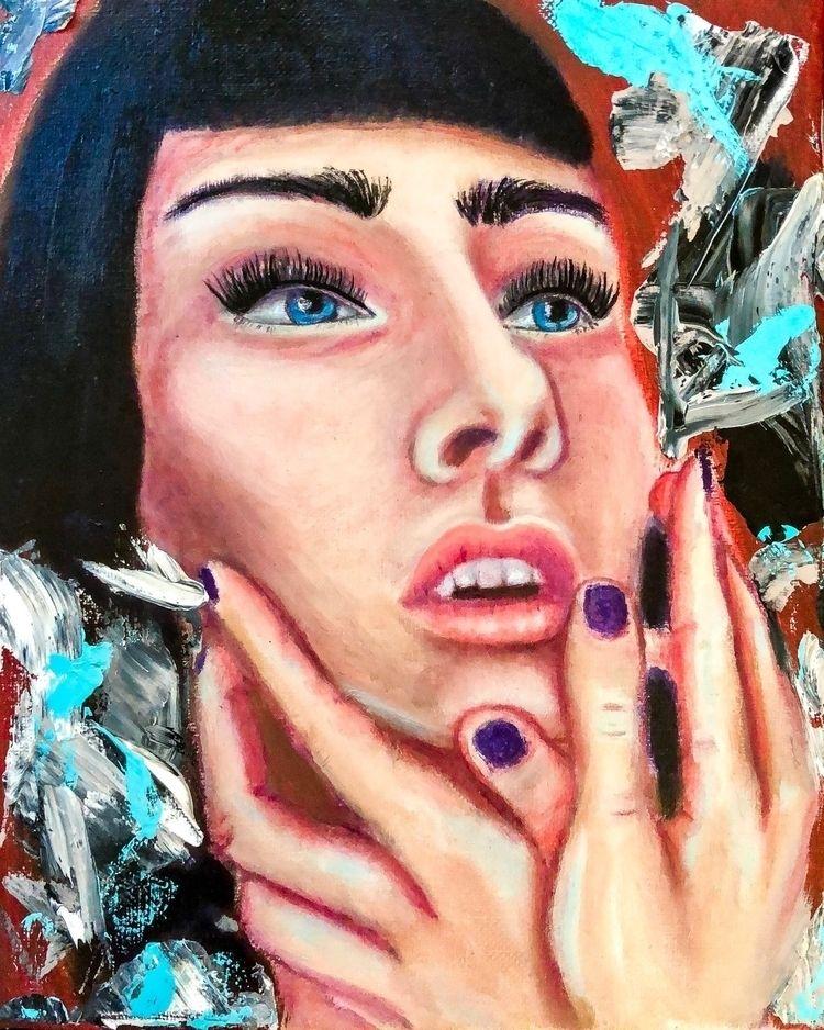 "WORK PROGRESS Oil canvas 8""x10 - annaisabellaart   ello"