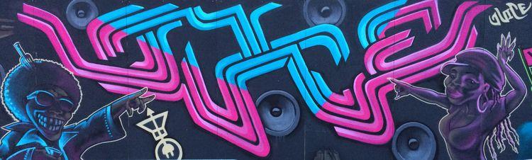 Mural Volt techno festival NDSM - mrjuice | ello