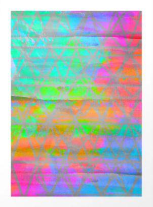 neon colored pattern - szilvidsgn | ello