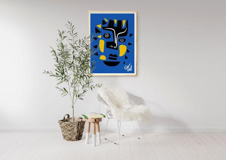 Mask minimal artwork inspired A - signorino | ello