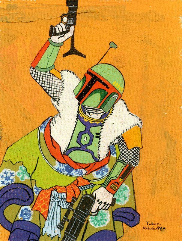 Takao Nakagawa - Boba Fett - TakaoNakagawa - m-h-l-curates | ello