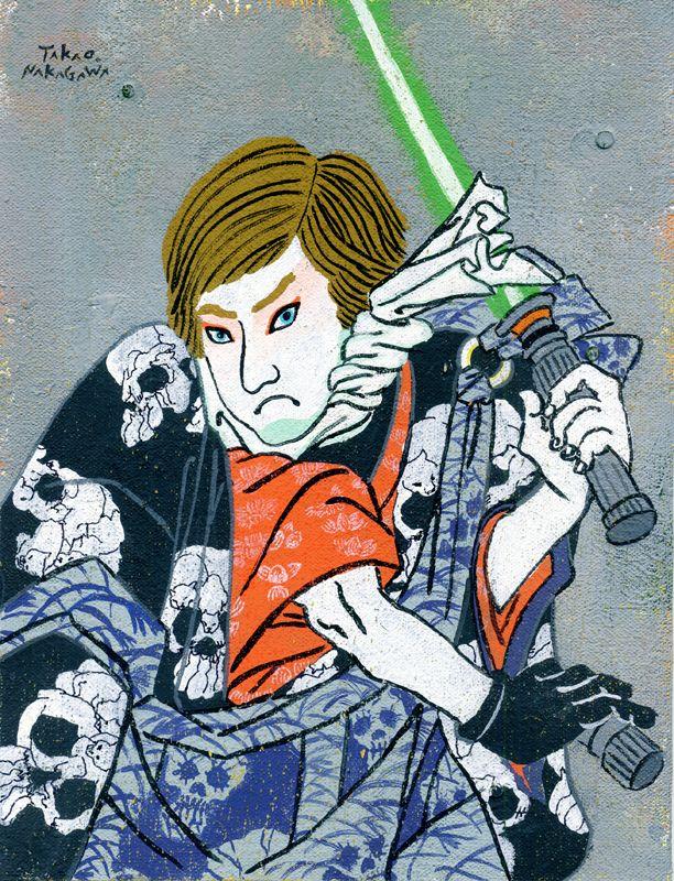 Takao Nakagawa - Luke Skywalker - m-h-l-curates | ello