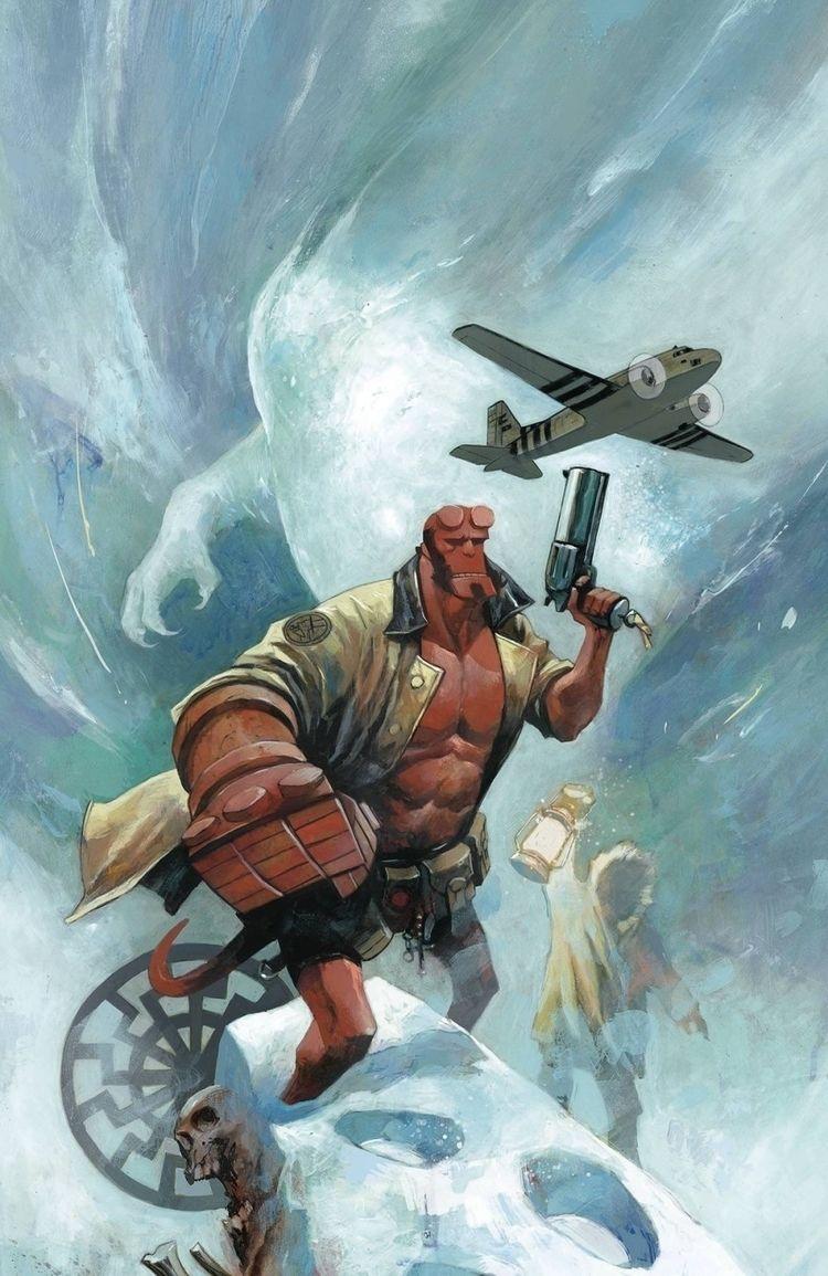 Mike Huddleston - Hellboy '54 - 1 - m-h-l-curates | ello