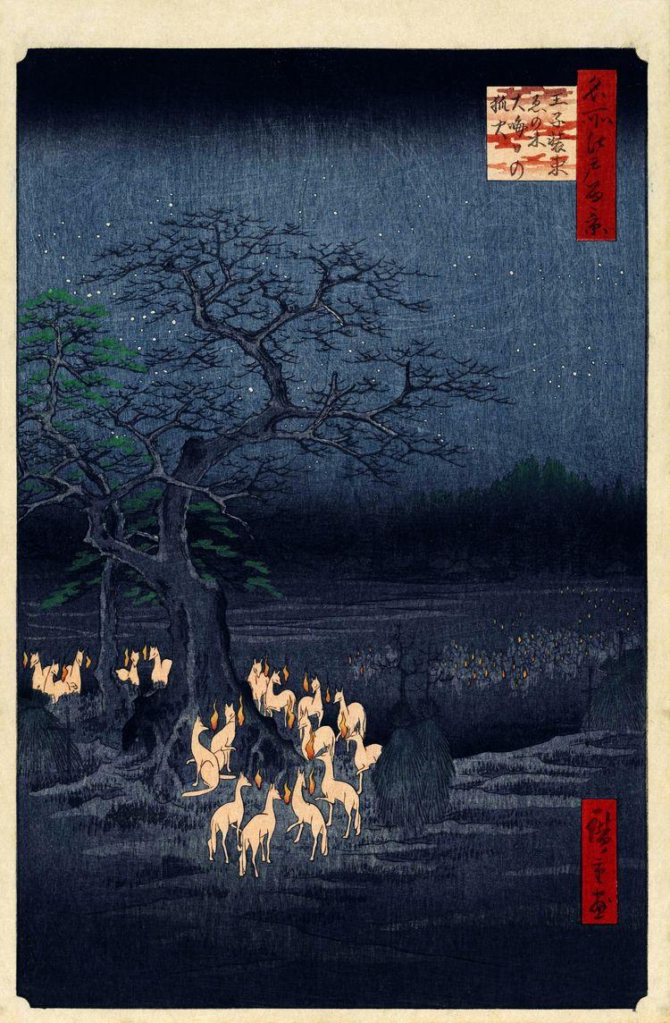 Ando Utagawa Hiroshige - Eve Fo - m-h-l-curates | ello