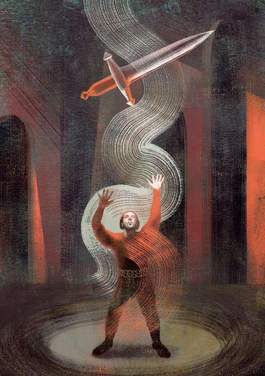 Anna Elena Balbusso - Macbeth - illustration - m-h-l-curates | ello