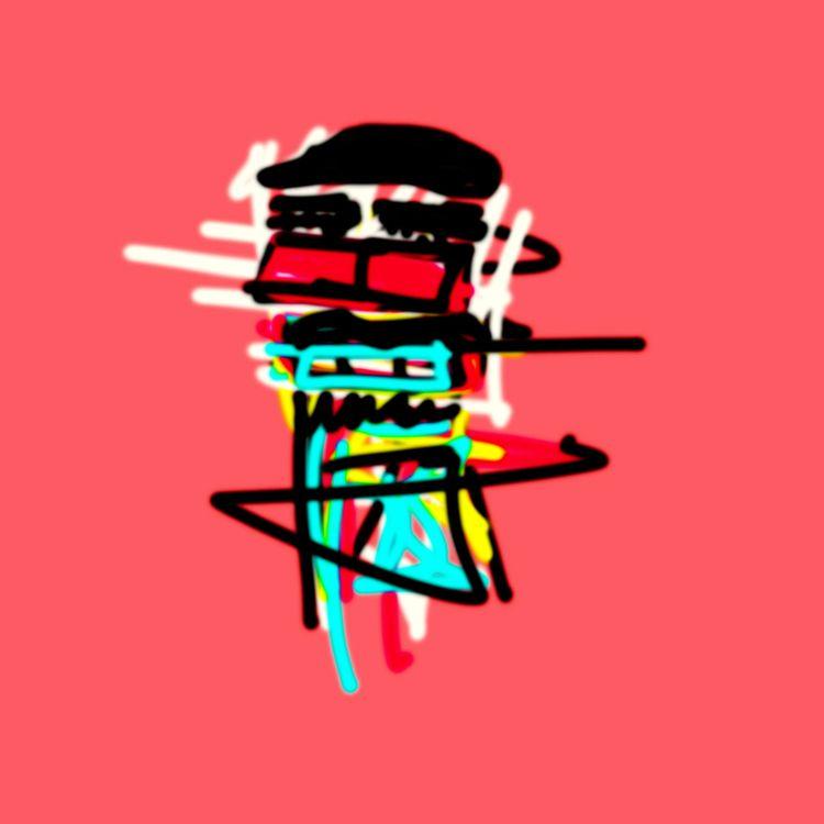 Beatniks - raw, art, illustration - jkalamarz | ello