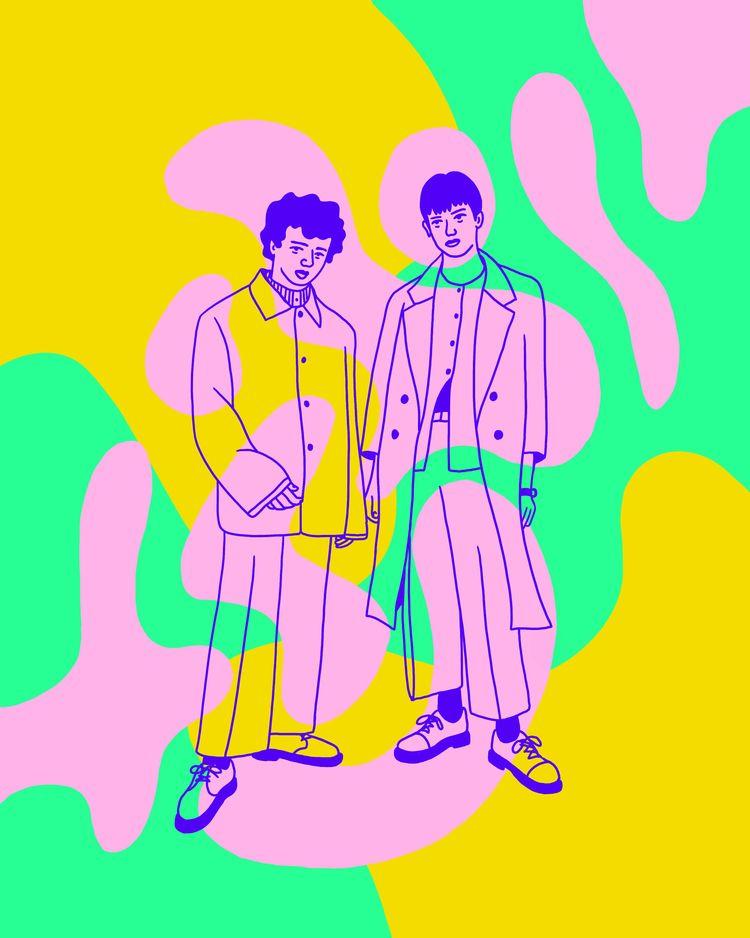 Buds - illustration, illustrator - heybop | ello
