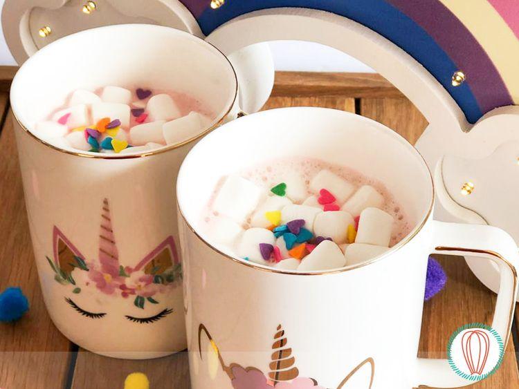 delicious creamy Unicorn Hot Ch - twofoodies | ello