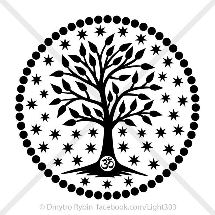 Mandala. Tree Life - tree, mandala - dmytroua | ello