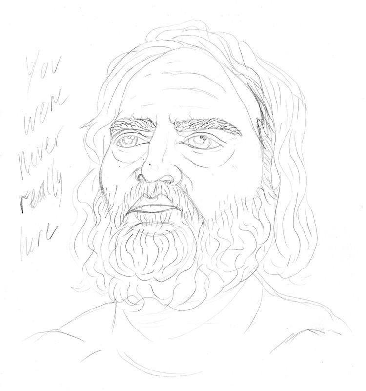 - Joaquin pencils colour - illustration - eastworthingsfinest | ello