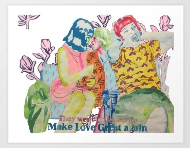 Prints project, love great Spre - birdyy | ello