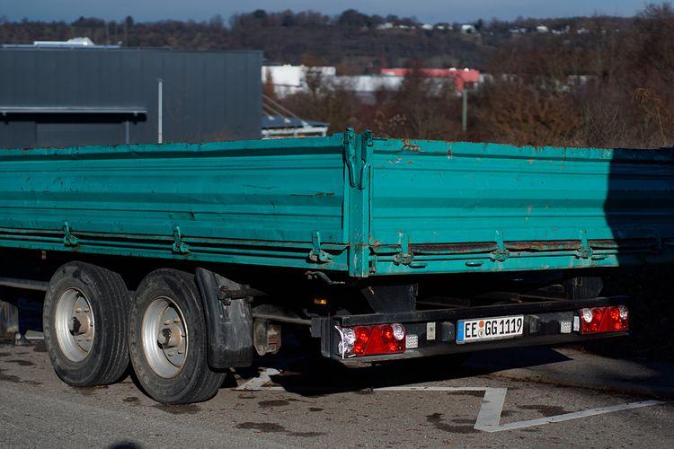 Load - photography, truck, turquoise - marcushammerschmitt | ello