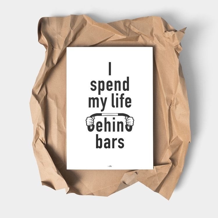 Design 32 - Life Bars Inspired  - 100copies_bicycle_art | ello