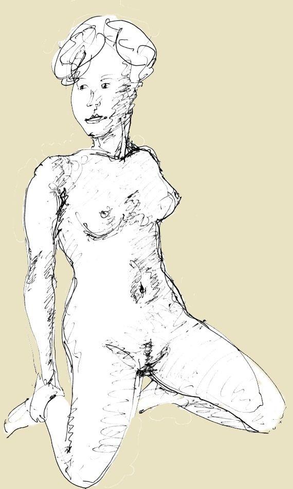 nude drawing - fvila | ello