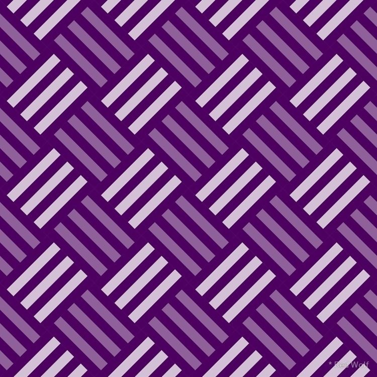 Geometric Pattern: Weave: Purpl - red_wolf | ello