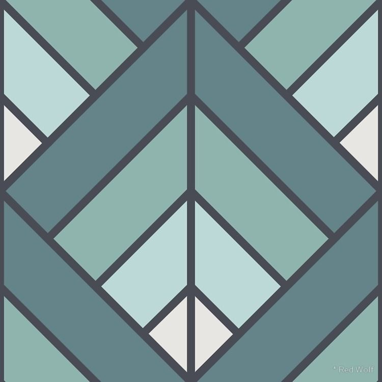 Geometric Pattern: Art Deco Dia - red_wolf | ello