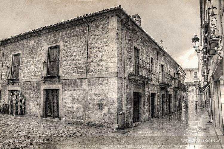 Streets Avila; time silence. Re - ignacioleal   ello