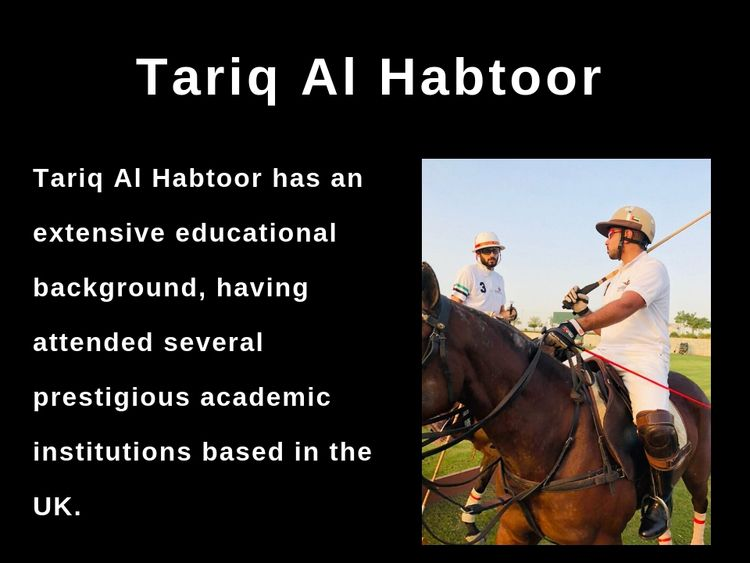 Tariq Al Habtoor - Accomplished - tariqalhabtoor | ello