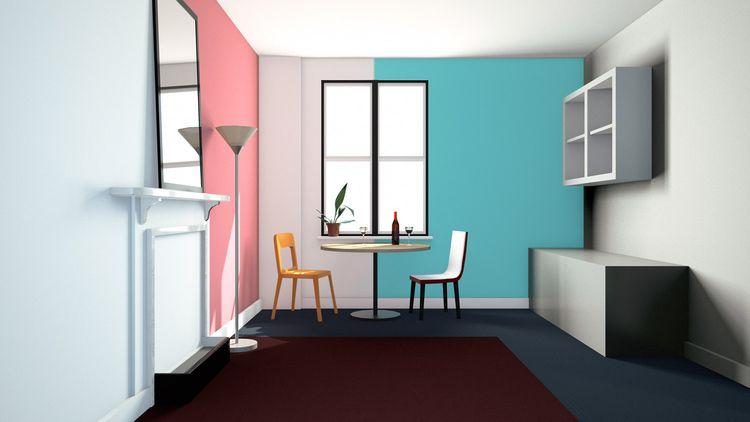 Wine time - illustration, 3d, background - laurencejmoss | ello