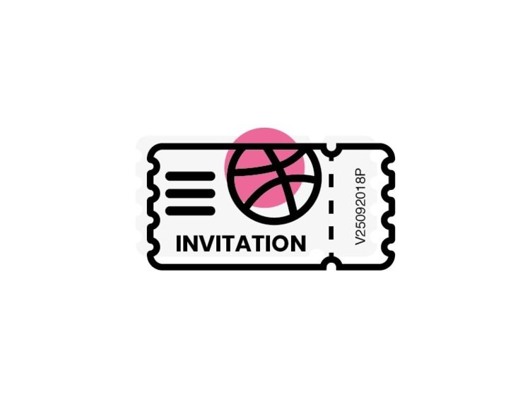 Hey Guys, 3 dribbble invite rea - vincenzoop | ello