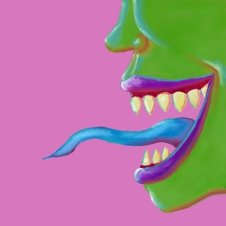 surrealism, monsters, dreams - schultzlander   ello