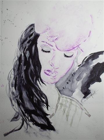 enjoyed working watercolor pain - stevehewittartstudio | ello