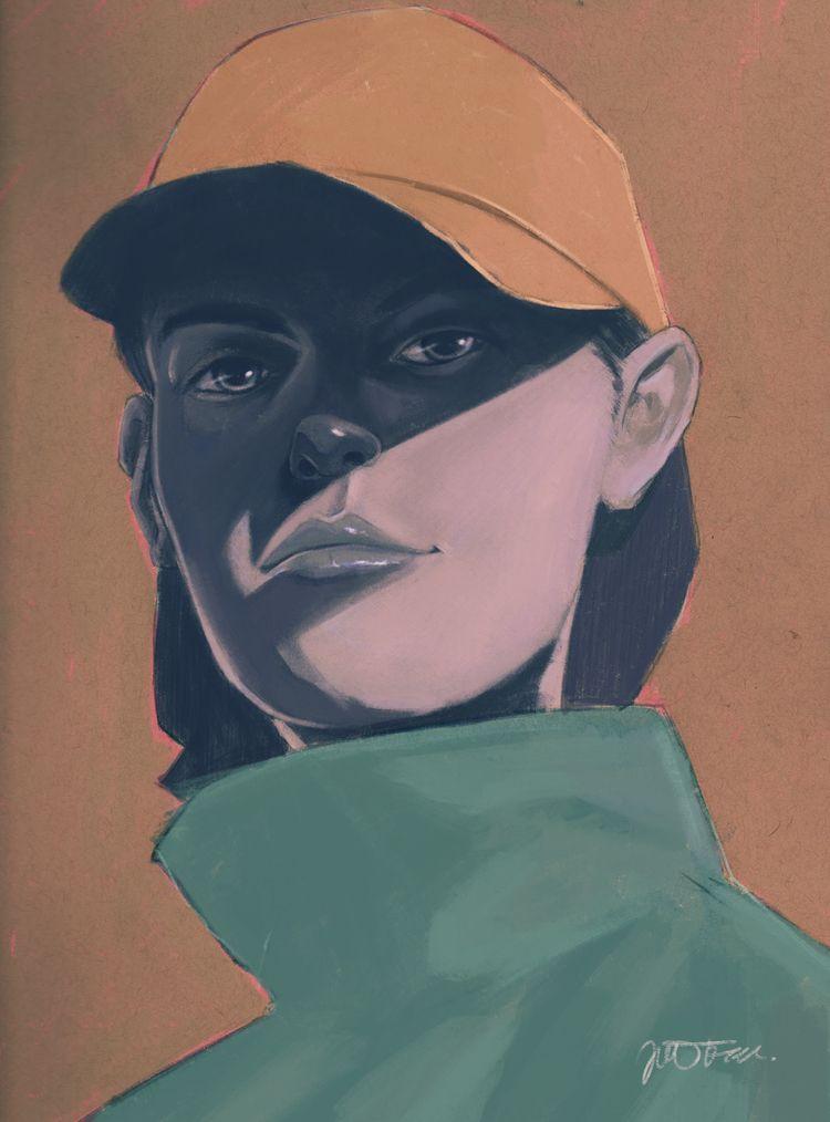 means business - illustration, portrait - jferreirastudio   ello