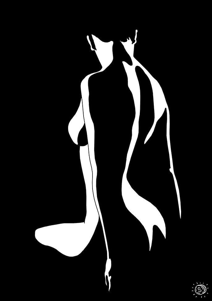 Body - art, illustration, minimalism - thespred | ello
